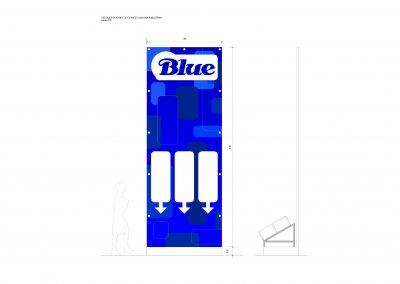 BLUE . NAMPULA